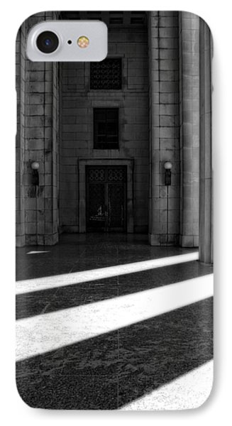 Entrance To War Memorial In Nashville IPhone Case by Dan Sproul