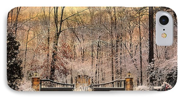 Entrance To Winter Phone Case by Jai Johnson