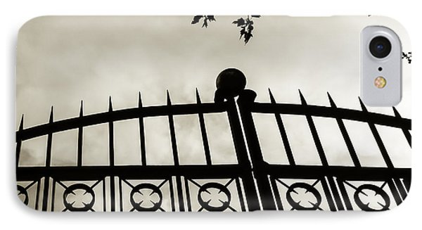 IPhone Case featuring the photograph Entrances To Exits - Gates by Steven Milner