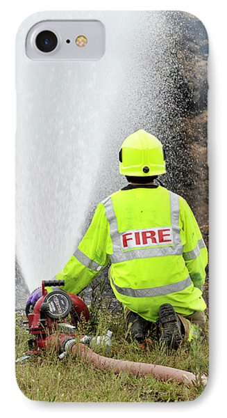 Environmental Fire Services IPhone Case