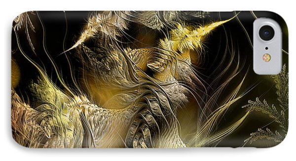 IPhone Case featuring the digital art Environmental Transitions 5 by Casey Kotas