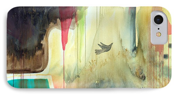 IPhone Case featuring the painting Envisage by Robin Maria Pedrero