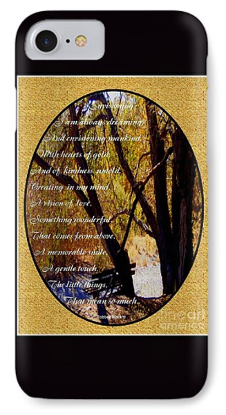 Envisioning Inspirational IPhone Case by Bobbee Rickard