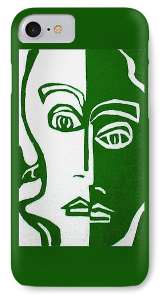 IPhone Case featuring the painting Envy by Donna Tucker