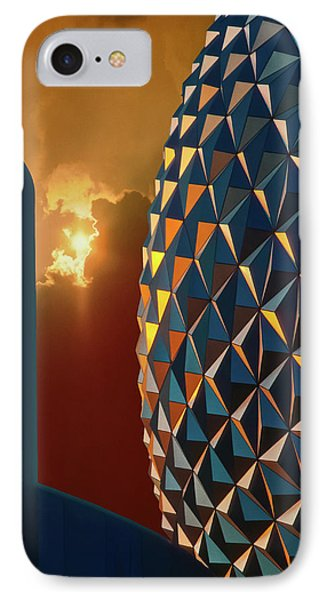IPhone Case featuring the photograph Epcot by Kellice Swaggerty