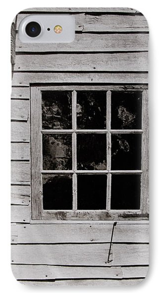 IPhone Case featuring the photograph Ephrata Cloisters Window by Jacqueline M Lewis