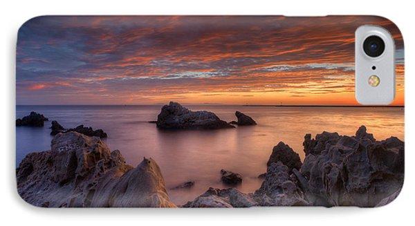 Epic California Sunset Phone Case by Marco Crupi