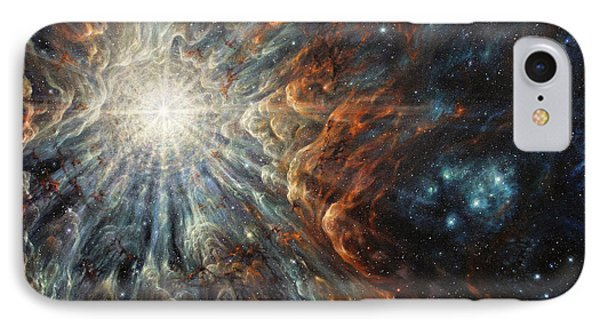 Epiphany In Light IPhone Case