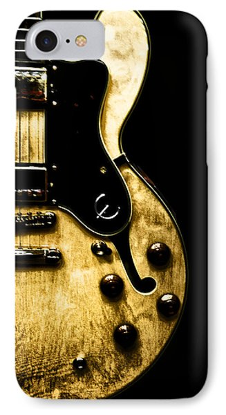 Epiphone Broadway Electric Guitar IPhone Case by Bill Cannon