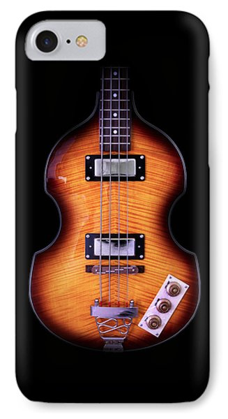 Epiphone Viola Bass Guitar No Border IPhone Case