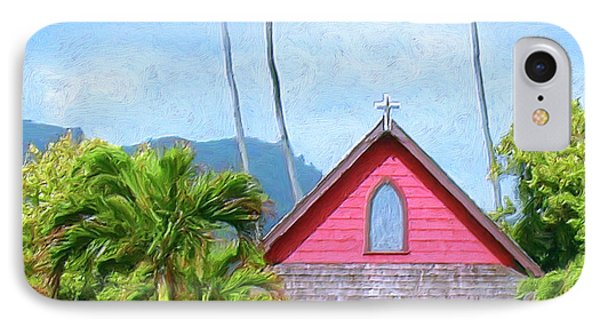 Episcopal Church In Kapaa Phone Case by Dominic Piperata