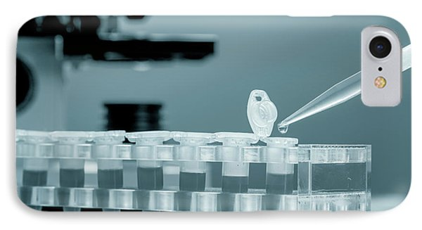 Eppendorf Tubes And Pipette IPhone Case