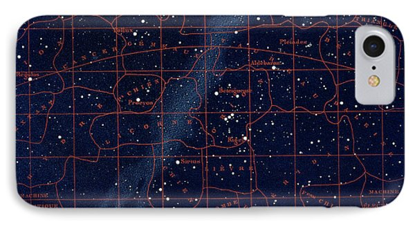 Equatorial Constellations IPhone Case by Collection Abecasis
