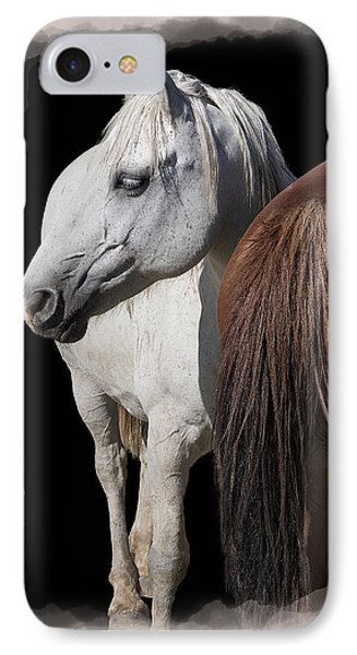Equine Horse Head And Tail IPhone Case