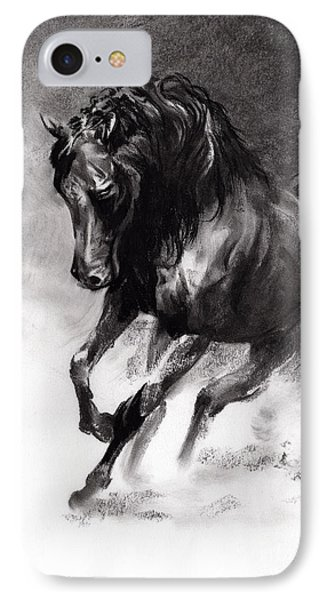 Equine IPhone Case by Paul Davenport