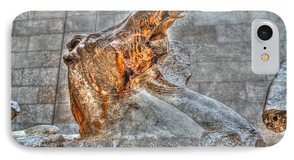 IPhone Case featuring the photograph Equus by Ross Henton