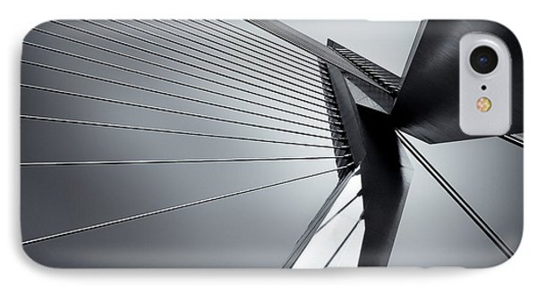 Erasmusbrug IPhone Case by Dave Bowman