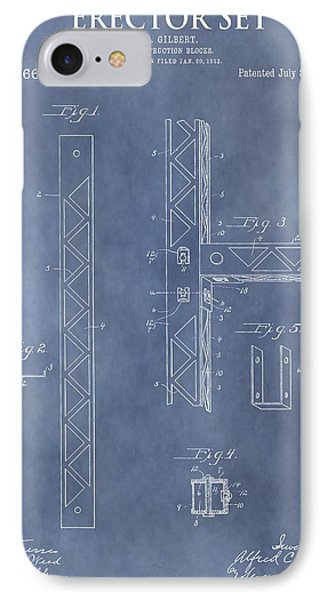Erector Set Patent IPhone Case