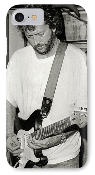 Eric Clapton 1988 IPhone Case by Chuck Spang