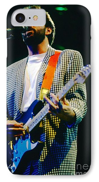 Eric Clapton A1 Phone Case by David Plastik