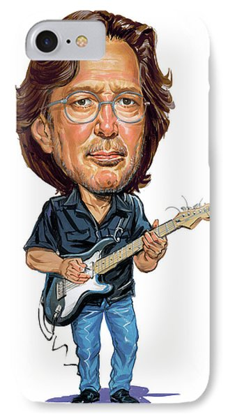 Eric Clapton Phone Case by Art