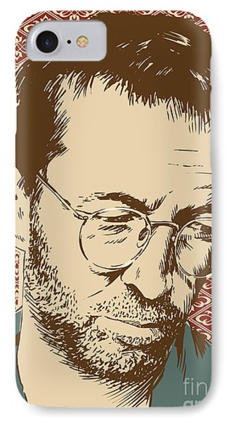 Eric Clapton IPhone Case by Jim Zahniser