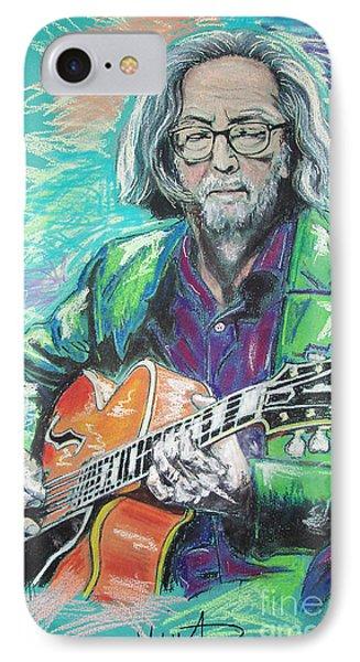 Eric Clapton IPhone 7 Case by Melanie D