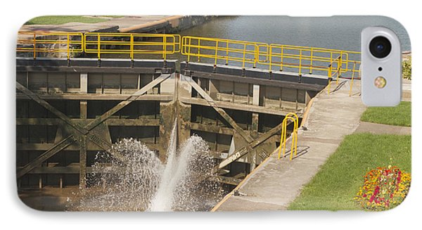IPhone Case featuring the photograph Erie Canal Lock by William Norton