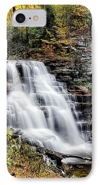 Erie Falls IPhone Case by David Stine