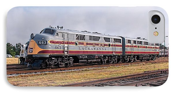 Erie Lackawanna F3 Ab - Streamliners At Spencer IPhone Case