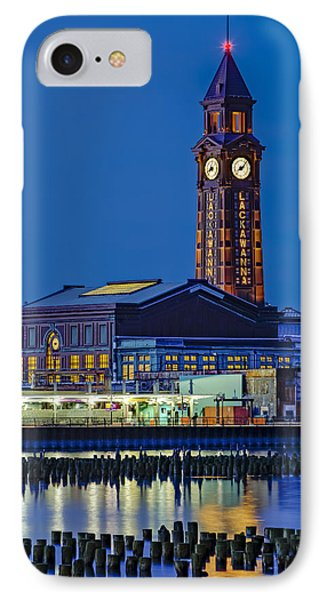 Erie Lackawanna Terminal Hoboken IPhone Case by Susan Candelario