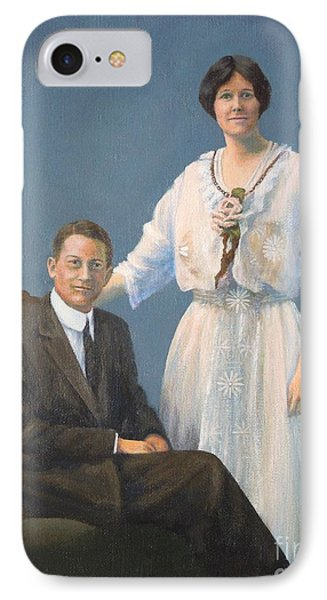 Ernest And Helen Barnes IPhone Case