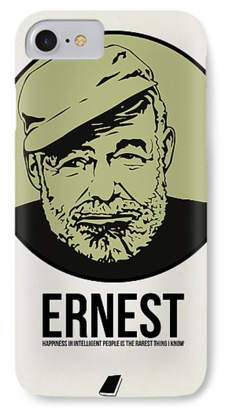 Ernest Poster 2 IPhone Case
