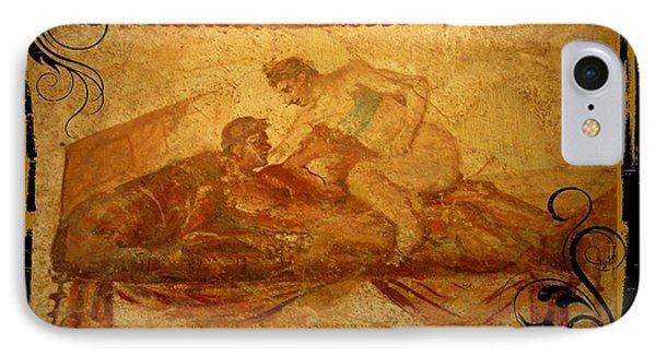 Erotic Art Of Pompeii Phone Case by John Malone Halifax Photographer