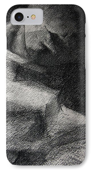 Erotic Sketchbook Page 1 Phone Case by Dimitar Hristov
