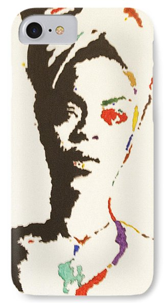 IPhone Case featuring the painting Erykah Badu by Stormm Bradshaw