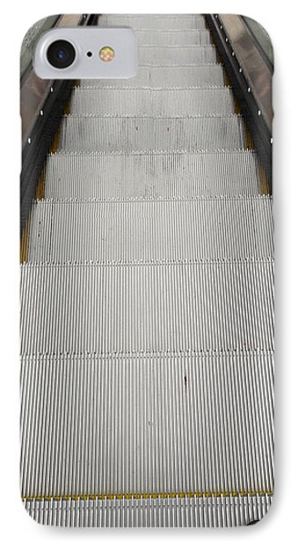 Escalator Phone Case by Les Cunliffe