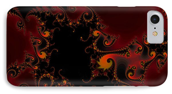 IPhone Case featuring the digital art Escape Hatch by Elizabeth McTaggart