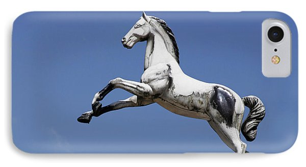 Escaped Carousel Horse IPhone Case