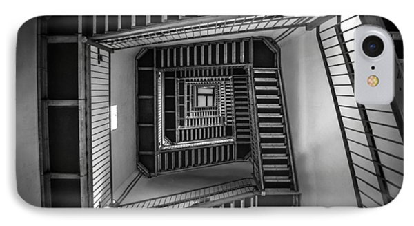 Escher IPhone Case by Kristopher Schoenleber