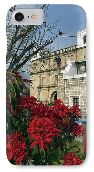 Escuela De Cristo Church Antigua Phone Case by Kurt Van Wagner
