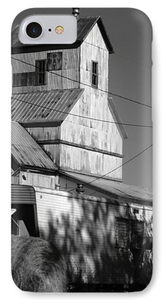 IPhone Case featuring the photograph Eskridge Elevator by Rod Seel
