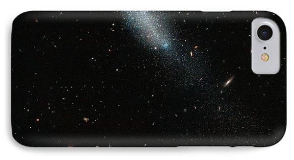 Eso 149-3 Galaxy IPhone Case by Esa/hubble & Nasa