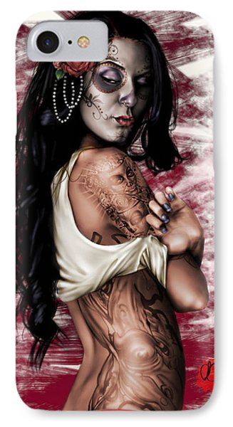 Esperanza Viva IPhone Case by Pete Tapang