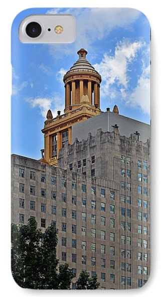 Esperson Buildings Houston Tx IPhone Case by Christine Till