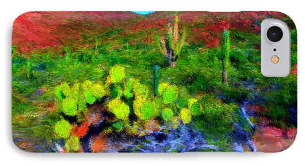 Espiritu Santo Cactus 3 IPhone Case by Gerhardt Isringhaus