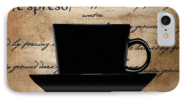 Espresso Madness Phone Case by Lourry Legarde