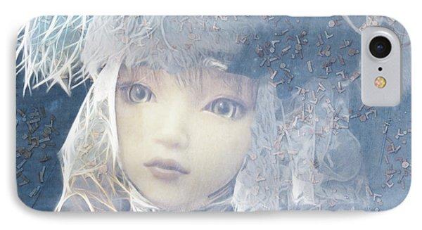 IPhone Case featuring the digital art Esprilanza Dilla Nocetina by Barbara Orenya