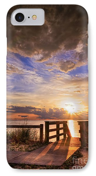 Essence Of Light IPhone Case by Marvin Spates
