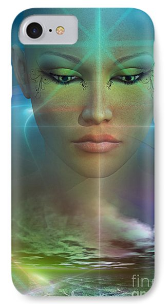 IPhone Case featuring the digital art Essence by Shadowlea Is